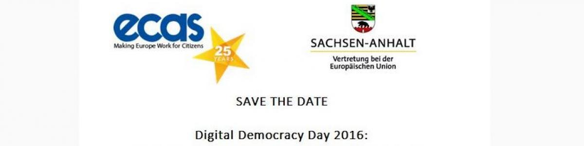 Digital democracy day