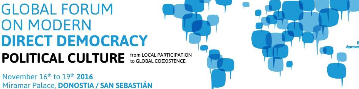 Global Forum on Modern Direct Democracy