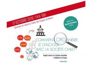 Event dialogue société civile